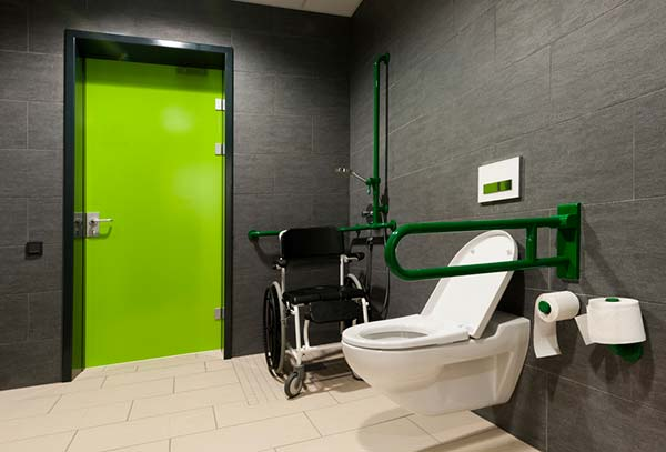 accessible rooms , a wheelchair friendly wetroom