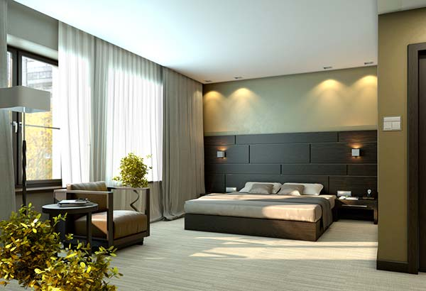 designer bedrooom luxury