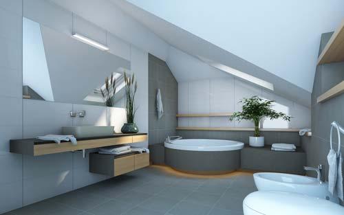 modern luxury bathroom design