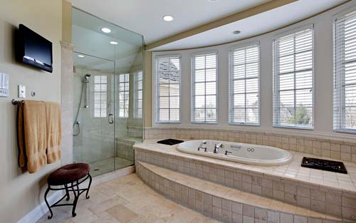 sunken bath luxury bathroom design