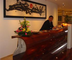 reception designs luxuriant counters shopfitters