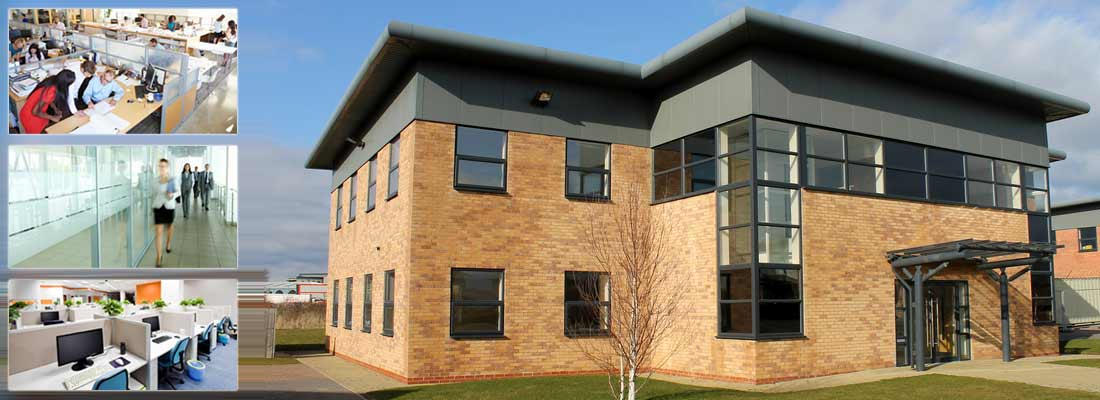 modern office and commercial premises designed for comfort and efficiency