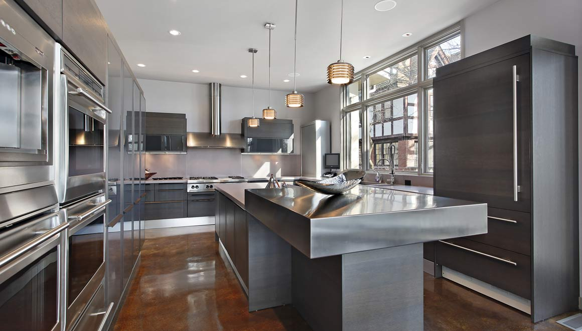 commercial style kitchen fitting